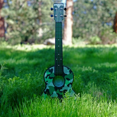 Outdoor Ukulele Tenor Green Camo