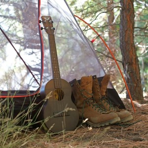 Outdoor Ukulele _Brown Boots_web