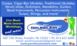 Porch Music Store AD